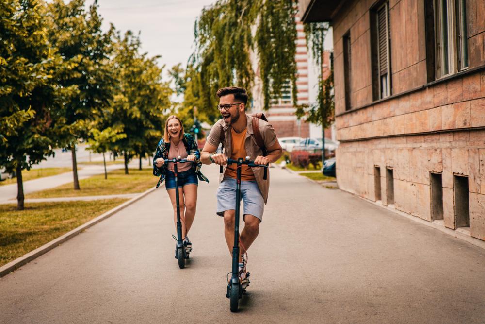 elektrische scooter tour